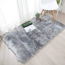 ojia deluxe soft fuzzy fur rugs