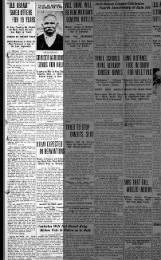 Battle Creek Enquirer from Battle Creek, Michigan on January 16, 1924 ·  Page 1