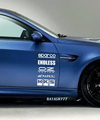 Racing Sponsors Infiniti Sport Car Sticker Emblem Logo Decal White Pair Natash777 Ford Sports Cars Chevy Sports Cars Emblem Logo