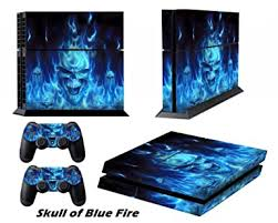Amazon Com Ps4 Skins Playstation 4 Games Decals Sony Ps4 Games Ps4 Controller Stickers Ps4 Remote Controller Skin Ps4 Accessories Ps4 Console Sticker And Two Dualshock 4 Ps4 Remote Play Vinyl Decal Skull