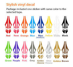 6mm 1 4 Pinstriping Pin Stripe Tape Solid Line Decal Vinyl Sticker Hot Pink Archives Midweek Com