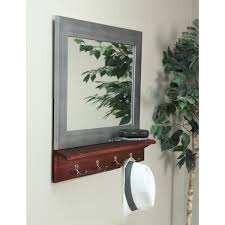brandtworks matte black small mirror