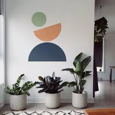Geometric Abstract Wall Decal Moonwallstickers Com