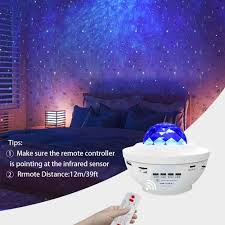 Night Light For Kids Lbell 3 In 1 Star Projector W Led Nebula Cloud Tophatter Shop