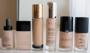 my foundation and concealer shades