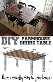 diy farmhouse table diy crafts