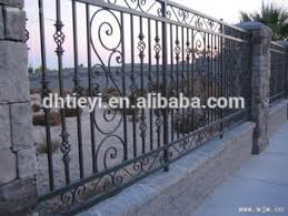 Fancy Decorative Wrought Iron Fence Metal Gate Fence Design Buy Decorative Wrought Iron Fence Wrought Iron Fence Iron Fence Product On Alibaba Com