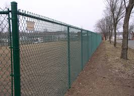 Galvanized Chain Link Mesh Fencing 50mm Outside Diameter 0 5m 6m Height