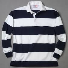 white navy rugby shirt number 8 rugby