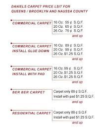 list daniels carpet nyc