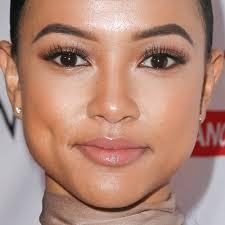 karrueche tran makeup black eyeshadow