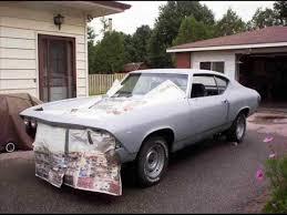 1969 chevelle ss 454 frame off