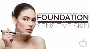 best foundation for senstive skin