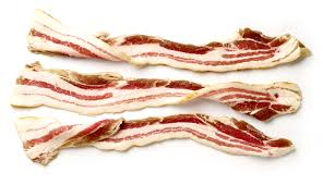 wood smoked streaky bacon frozen
