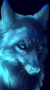 iphone wallpaper moon wolf