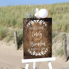 Welcome To Our Wedding Sign Personalized Wedding Decal