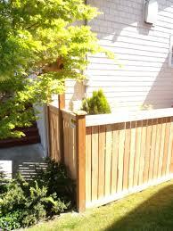 Full Panel 4 Feet Cedar Wooden Fence Cedar Fence Fence Panels Wood Fence Cost