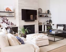 your fireplace wall s finish consider