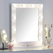 hollywood lighted makeup vanity mirror