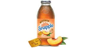 peach tea snapple