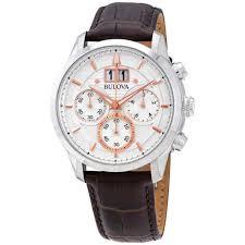 bulova men s sutton quartz chronograph