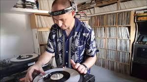 "DJ Andy Smith cutting up 2 x 7"" 45s of Last Night A DJ Saved My ..."