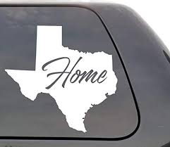 Amazon Com Texas Decal Texas Tx Decal Home State Decal State Decal Car Decals Yeti Decal Laptop Decal State Love Window Decal Vinyl Wall Window Door Car Truck Home Kitchen