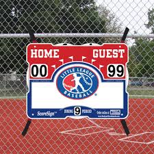 Scoresign Little League Baseball Portabl Buy Online In Cayman Islands At Desertcart