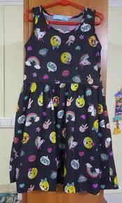 pebbles unicorn sun dress size 7 8 yo