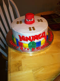 Lego Ninjago Birthday Cake - CakeCentral.com