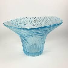 viking glass bowl w sticker light baby