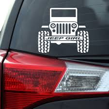 Jeep Girl Decal Southern Caliber Decals
