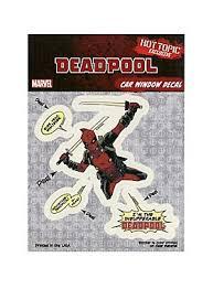 Marvel Deadpool Car Window Decals