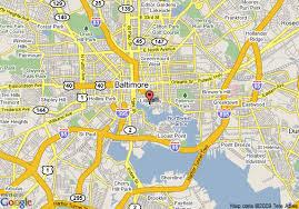 map of hilton garden inn baltimore