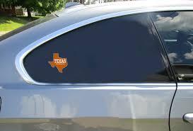 Texas The Longhorn State Sticker U S Custom Stickers