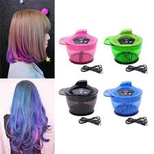 hair coloring bowl automatic mixer