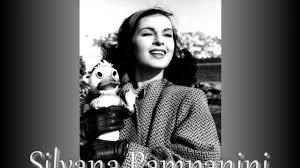 Movie Legends - Silvana Pampanini - YouTube