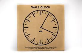 wall clock glacier tait design co