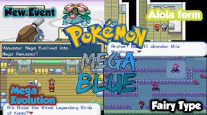 Pokemon Mega Blue Download, Informations & Media - Pokemon GBA ROM ...