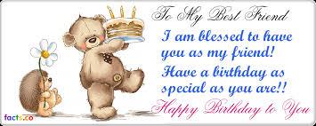 happy birthday to my best friend nice wishes