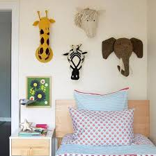 Animals Stuffed Wool Felt Heads For Kids Room Decor 3d Baby Nursery W Boo Bootik