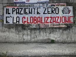 """Il paziente zero è la globalizzazione"""", striscioni di CasaPound ..."""