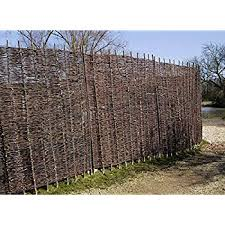 6ft X 3ft Papillon Willow Natural Garden Hurdles Fencing Screening Panel 1 8m X 0 9m