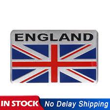 5x8cm Aluminium England Emblem Car Stickers Gb Uk Flag Badge Decor Decal Sticker For Bmw Audi Ford Jaguar Car Styling Car Stickers Aliexpress