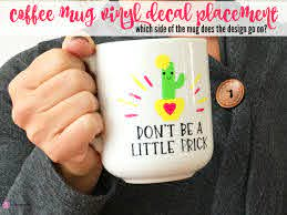 Coffee Mug Decal Placement Tips Silhouette School