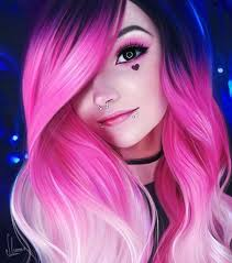 Image by Abigail Beck (With images) | Pink ombre hair, Dyed hair, Pink hair