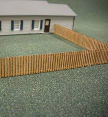 Amazon Com Train Time Laser Ho Scalelaser Cut Custom Fence 152 Scale Feet Toys Games