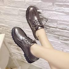 shoes women work flat shoes wild girls