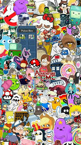 adventure time south park wallpaper