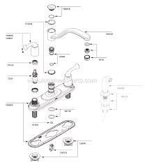 moen 7400 kitchen faucet repair diagram